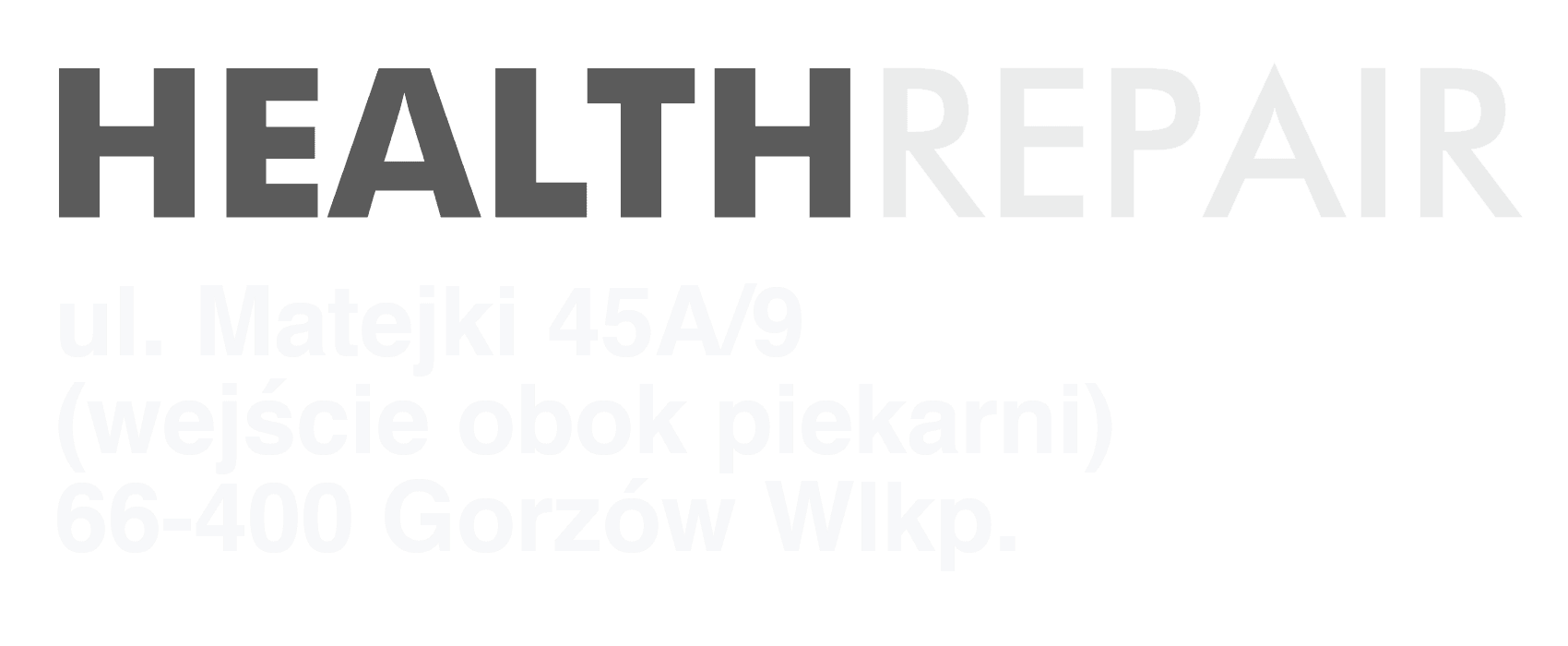 Health Repair Szaro